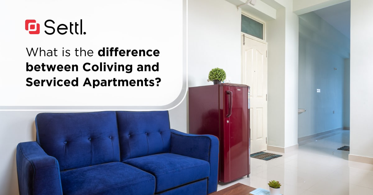 Serviced Apartments and Coliving Apartments in Bangalore